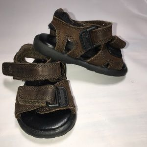 STRIDE RITE Brown Sandals Size 1 Month